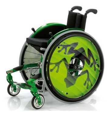 Hip Folding Wheelchair for Kids