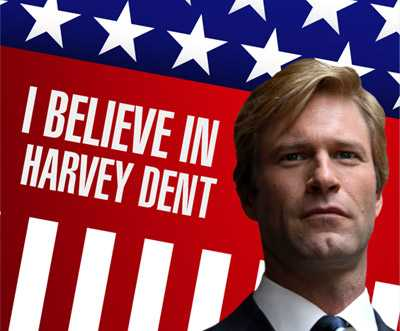Fake Ads For Batman Movies - Harvey Dent for Dark Knight