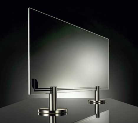 Heat is Invisible - Thermoglance Glass Radiator