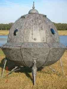 Spaceship For Sale: Home Made Space Ship Listed On Craigslist