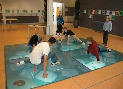 Interactive Floors - Wisdom Well for Fun Learning