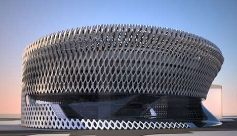 Futuristic Spanish Architecture