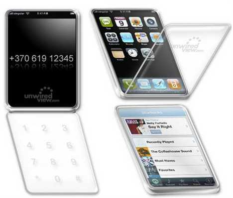 Apple's Dual Trackpad Phone