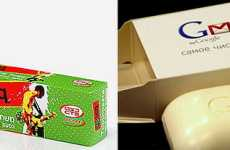 Geeky Hygiene Products - ICQ Toothpaste & Gmail Soap