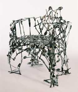 Cutlery Chair- Recycled Art by Osian Batyka-Williams