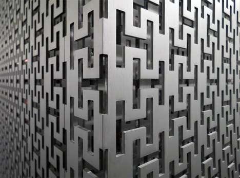 Metallic Couture Wallpaper