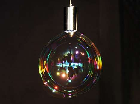 Beaming Bubble Lamps