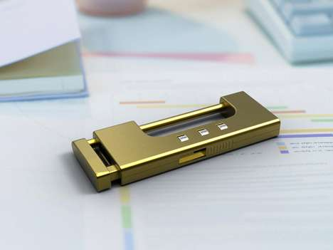 Protected Flash Drives - The U-Lock is Extra Secure for Top-Secret Information