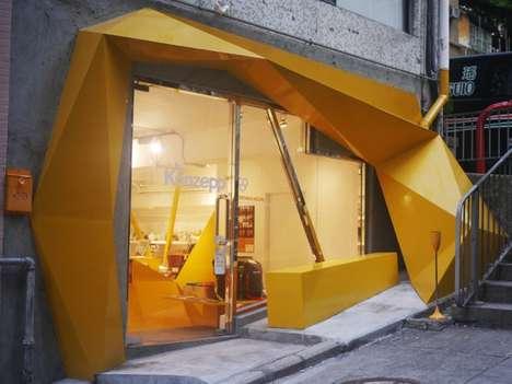 Angular Geometry Storefronts