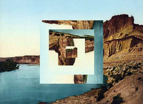 Manipulated Landscape Photography