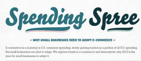 Selling Online Opportunity Charts - The Small Business and E-Commerce Infographic is Correct