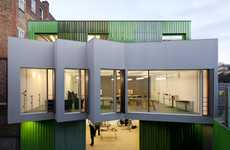 Modern Undulating Architecture - The Dellow Day Centre by Featherstone Young Aims to Help Others