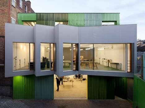 Modern Undulating Architecture