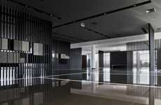 Transparently Layered Interiors - The Urbatek Showroom by CuldeSac is Modern in its Design Aesthetic