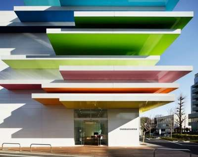 Stacked Rainbow Facades