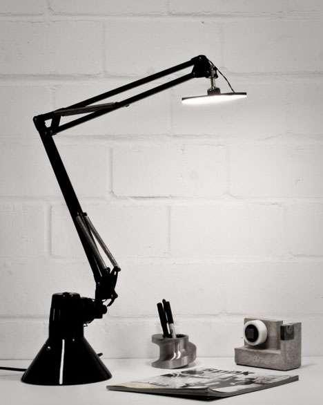 Upside-Down Task Lamps