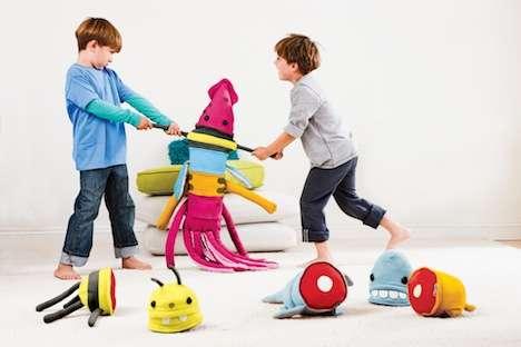 Mix-and-Match Plush Toys