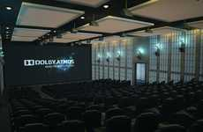 Realistic Theater Surround Sound - The Dolby Atmos Audio System Produces Natural Noises