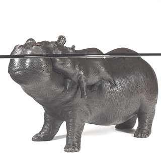 Animal Sculpture Furniture Hippo Coffee Table