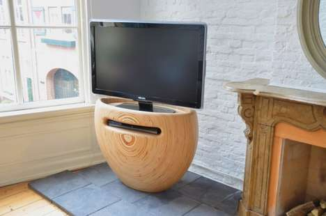 Curvy Entertainment Units