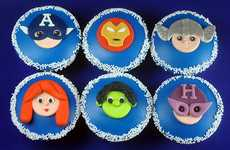 Sweet Superhero Treats - These Avengers Cupcakes are the Tastiest Way to Geek Out