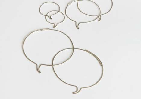 Speech Bubble Jewelry