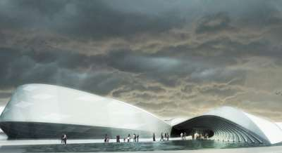 Whale-Inspired Pavilions
