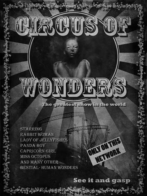Terrifically Twisted Circus Art