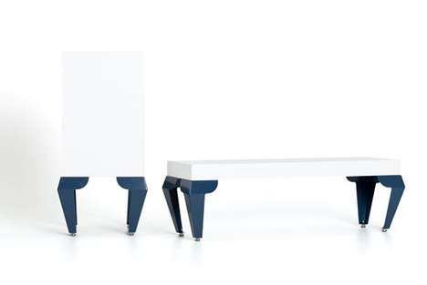 Minimalist Crouching Furniture