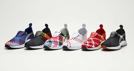 Criss-Crossed Sneakers