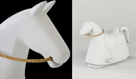 Modernized Rocking Horses