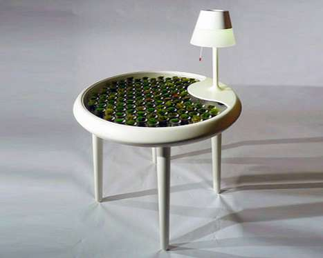 Biophotovoltaic-Inspired Furniture