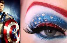 Superheroic Eye Shadows - Makeup Artist Jangsara Celebrates The Avengers with Alluring Looks
