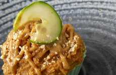 Nutty Cucumber Cakes - Rawdorable's Peanut Butter Pickle Cupcake Requires Courage to Consume