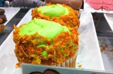 Chip-Topped Soda Cakes - These Mountain Dew and Doritos Cupcakes Will Derail Your Diet