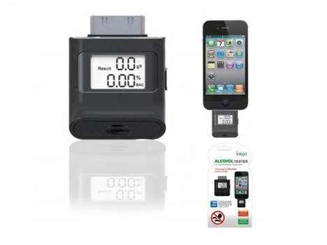 Smartphone Breathalyzer Monitors