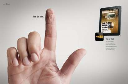 Touch-Worthy News App Ads