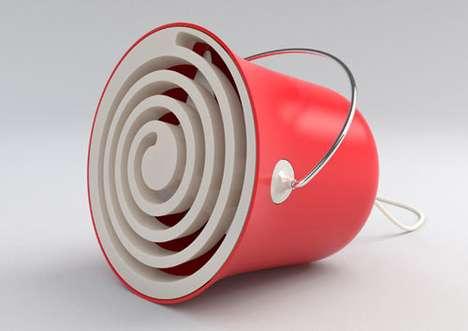 Bucket-Inspired Ventilators