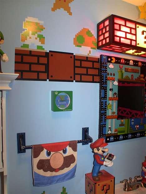 Ludicrous Retro Gaming Lavatories