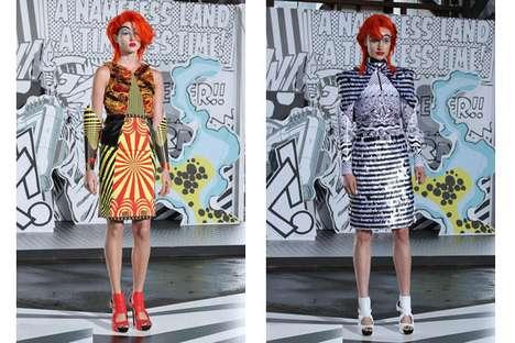 Clownish Superhero Fashion
