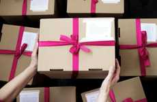 Gift-Giving Pinterest Campaigns - Kotex Delivers Gifts to Pinners for 'Women's Inspiration Day