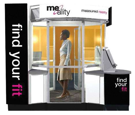 Futuristic Virtual Fitting Rooms - Me-Ality Takes the Hassle Out of Trying on Clothes