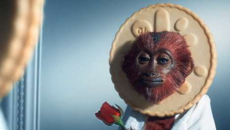 The Jammie Dodgers Advertisements Feature Singing Monkeys