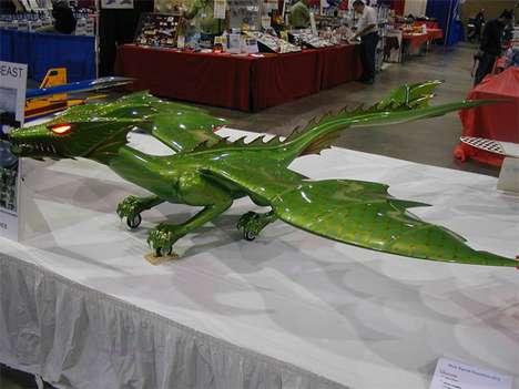 Fierce Flying Dragon Machines