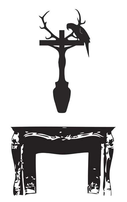 Provocative Crucifix-Clad Clocks