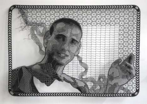 Capetown-Based Artist Pierre Fouché Debuts Amazingly Detailed Portraits
