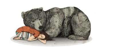 Cuddly Bear Companion Art