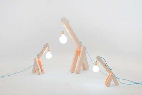Giraffe-Like Lighting