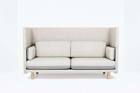 Modular Privacy Seating - The Arnhem Sofa by Sebastian Herkner Provides Intimacy at Whim