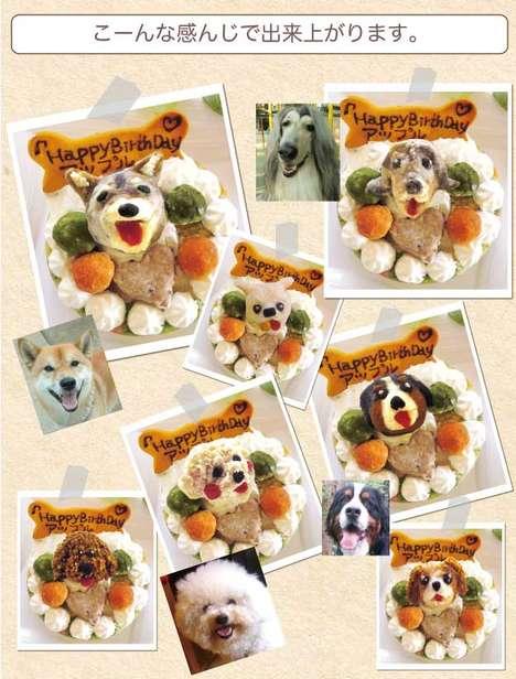 Customizable Canine Cakes